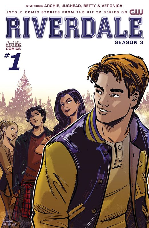 Riverdale: Season 3 - #1 (Cover A) by Micol Ostow