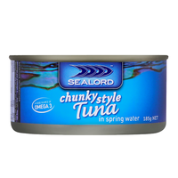 Sealord: Tuna in Springwater 185g (24 Pack) image