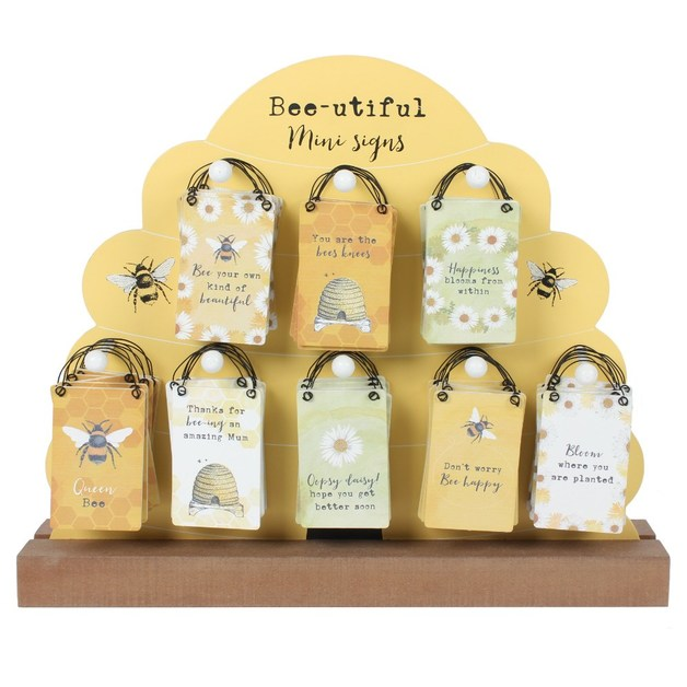 Mini Bee Hanging Sign - Thanks for bee-ing an amazing Mum