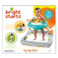 Bright Starts - Zig Zag Zebra Walker