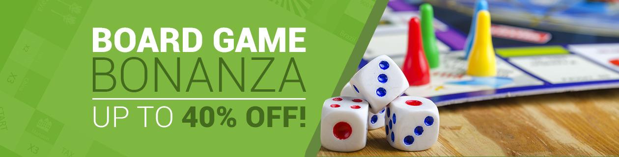 Board Game Bonanza on NOW!