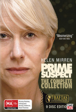 Prime Suspect - The Complete Collection (9 Disc Slimline Set) on DVD