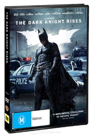 The Dark Knight Rises on DVD