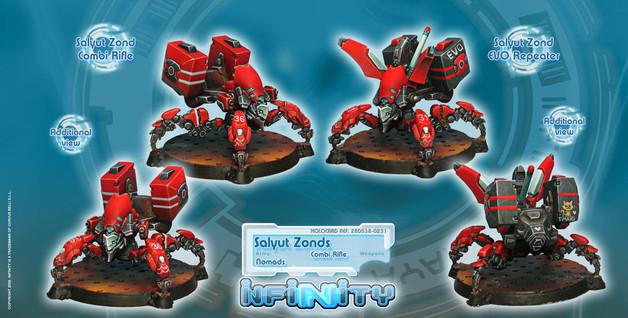 Salyut Zonds (EVO Repeater, Combi Rifle)