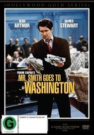 Mr Smith Goes To Washington on DVD