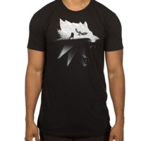 The Witcher 3 Wolf T-Shirt (Large)