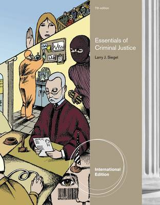 Essentials of Criminal Justice by Larry Siegel image