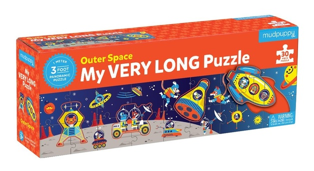 Mudpuppy: My Very Long Puzzle - Outer Space