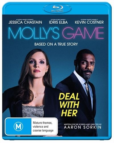 Molly's Game on Blu-ray