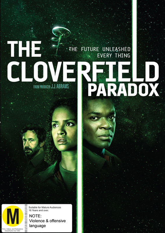 The Cloverfield Paradox on DVD