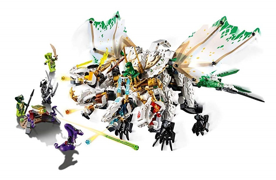 Lego Ninjago The Ultra Dragon Toy At Mighty Ape Nz
