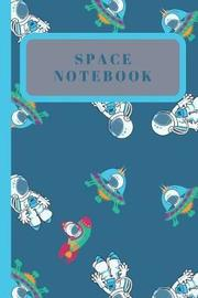 Space Notebook by Naughty Notes