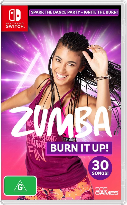 Zumba Burn It Up! for Switch
