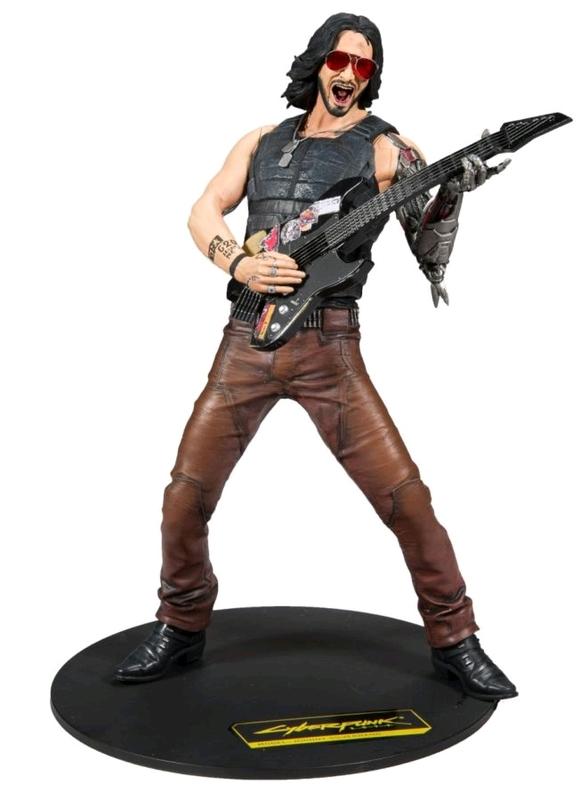 """Cyberpunk 2077: Johnny Silverhand - 12"""" Articulated Figure"""