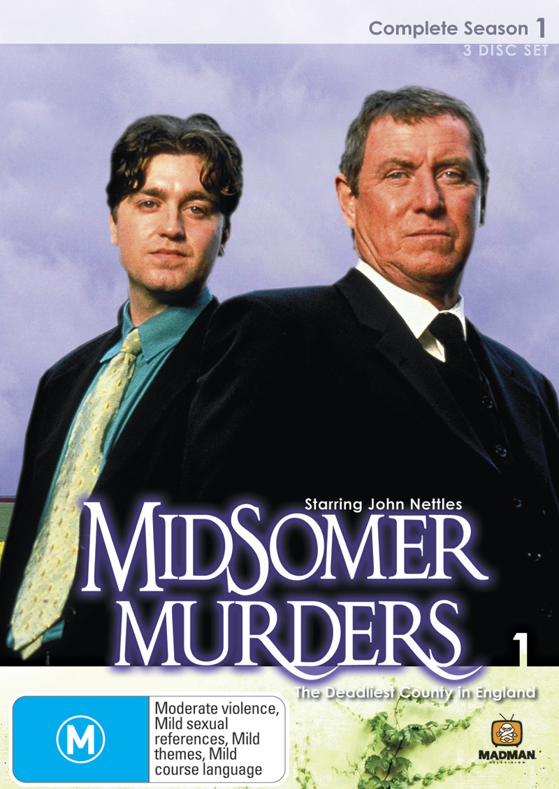 Midsomer Murders - Complete Season 1 (Single Case ) on DVD image