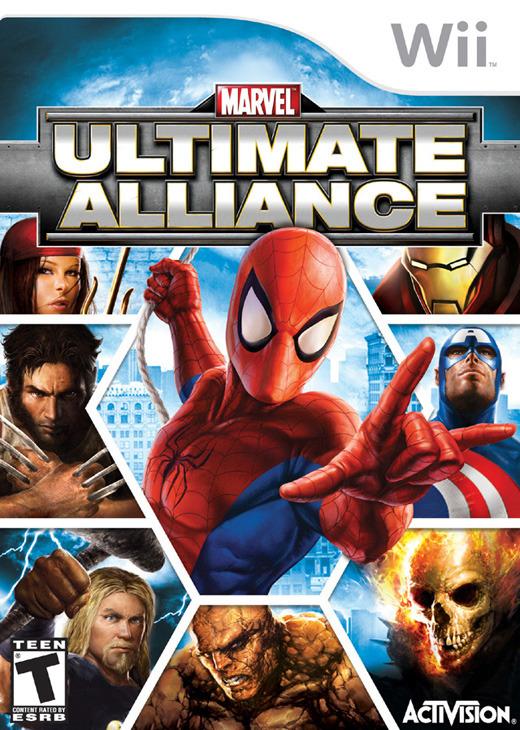 Marvel: Ultimate Alliance for Nintendo Wii