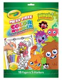 Moshi Monsters Colour Wonder - Crayola
