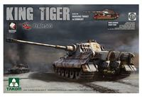 Takom 1/35 King Tiger Henchel Turret A.B.T 505 Model Kit