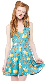 Sourpuss: Oktoberfest Skater Dress (Small)