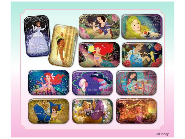 Disney Princess: Square Can Badge - Blind box image
