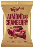 Whittaker's Almond & Cranberry Mini Slabs