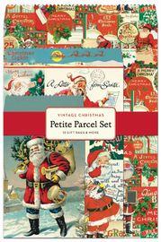 Vintage: Christmas Santa - Petite Parcel Set