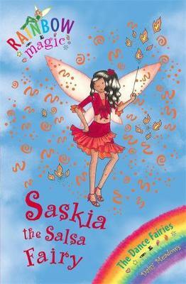 Saskia the Salsa Fairy (Rainbow Magic #55 - Dance Fairies series) by Daisy Meadows image