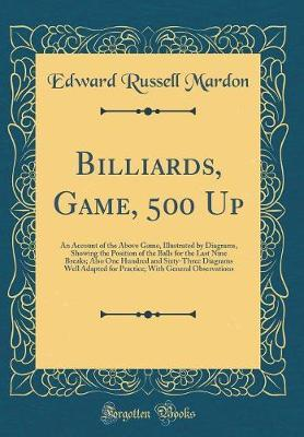 Billiards, Game, 500 Up by Edward Russell Mardon