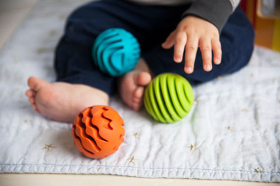 Fat Brain Toys - Sensory Rollers (Set of 3) image