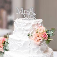 Wedding Cake Topper - Mrs & Mrs