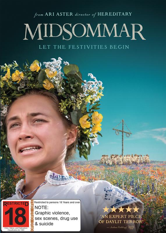 Midsommar on DVD