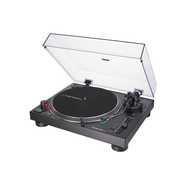 Audio Technica Direct-Drive Turntable (Analog & USB) Black