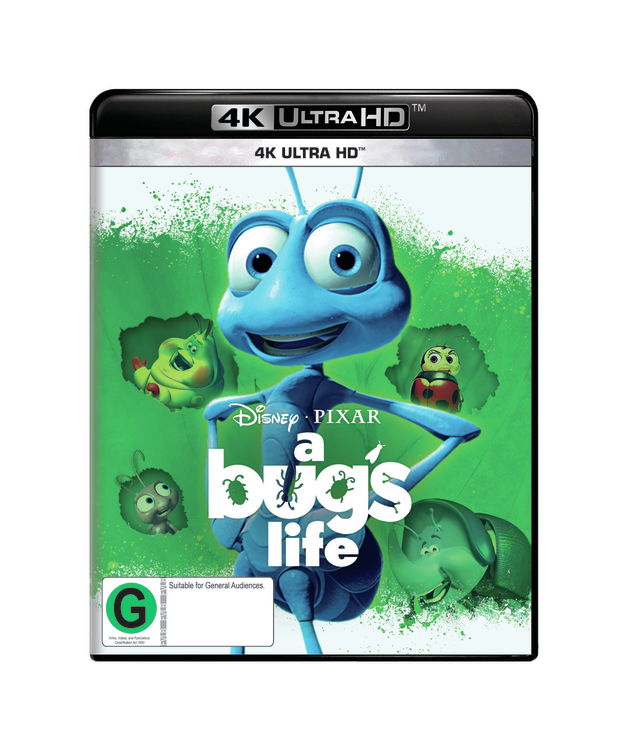 A Bug's Life on UHD Blu-ray
