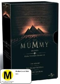 The Mummy - Legends Box Set on DVD image