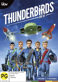 Thunderbirds are Go! - Volume 1 on DVD