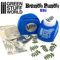 Green Stuff World - Miniature Branch Punch (Dark Blue)