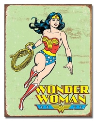 DC Comics: Wonder Woman - Retro Tin Sign