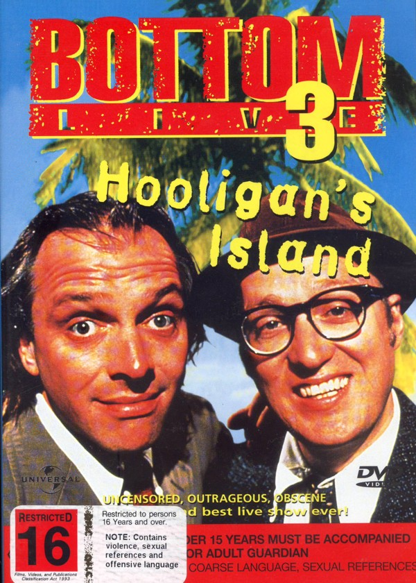 Bottom Live - Hooligans Island on DVD image