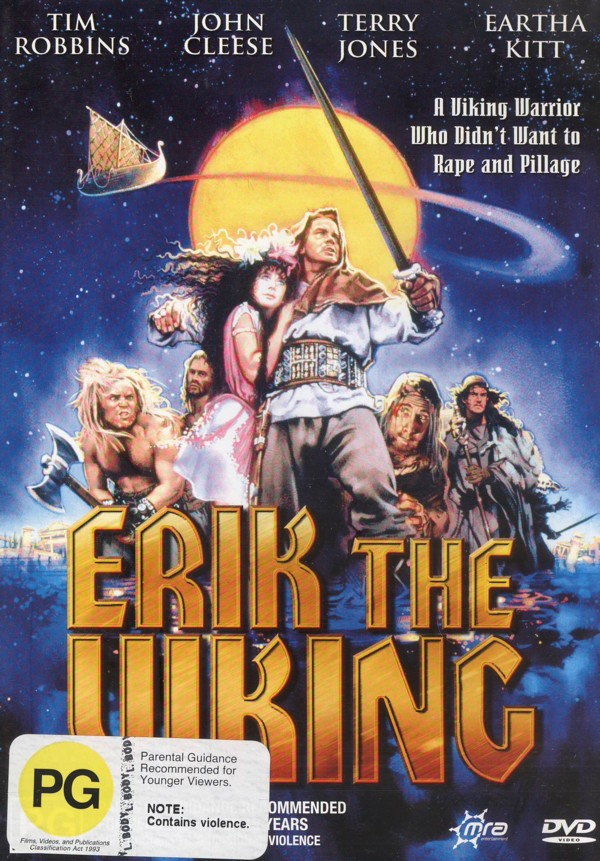 Erik The Viking on DVD image