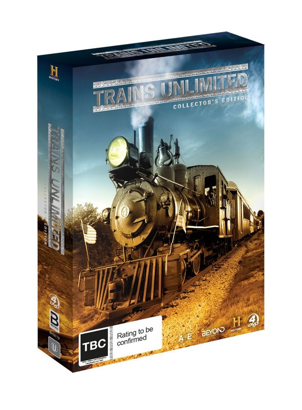 Trains Unlimited: Collector's Edition on DVD