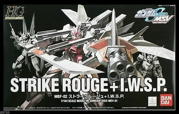 HGUC 1/144 Strike Rouge + IWSP - Model Kit