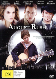 August Rush on DVD image