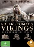 Greeks, Romans, Vikings: The Founders Of Europe on DVD