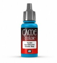 Vallejo Game Air Electric Blue Acrylic Paint (17ml)