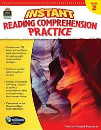 Instant Reading Comprehension Practice Grade 2 by Ruth Foster image