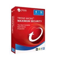 Trend Micro: Maximum Security 2017 - (1-6 Devices) 1 Year OEM (No CD Media)