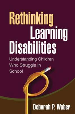 Rethinking Learning Disabilities by Deborah P Waber image