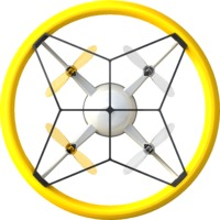 Silverlit: Bumper Drone Mini - Yellow
