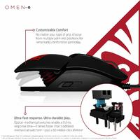 OMEN Reactor Gaming Mouse for PC image