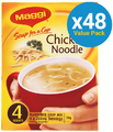 MAGGI Soup for a Cup Chicken Noodle 38g (48 Pack)